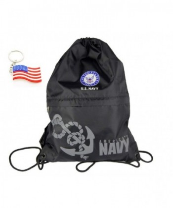 U S NAVY Official Licensed Military Drawstring