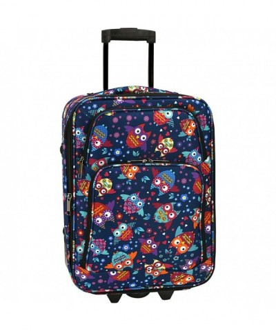 Elite Luggage Carry Rolling Multi Color