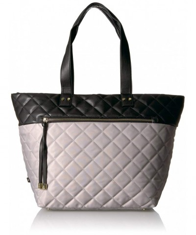 Utiliti Quilted Tote Light Grey