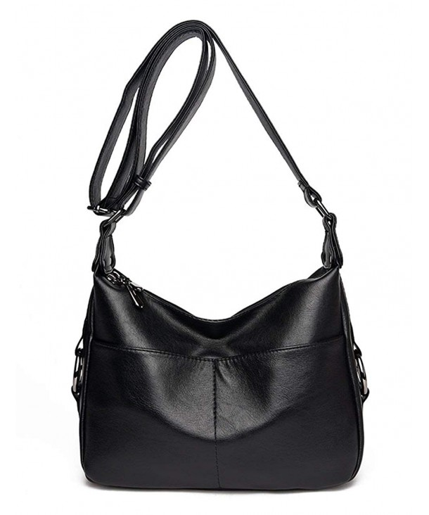 UONBOX Shoulder Leather Crossbody Satchel