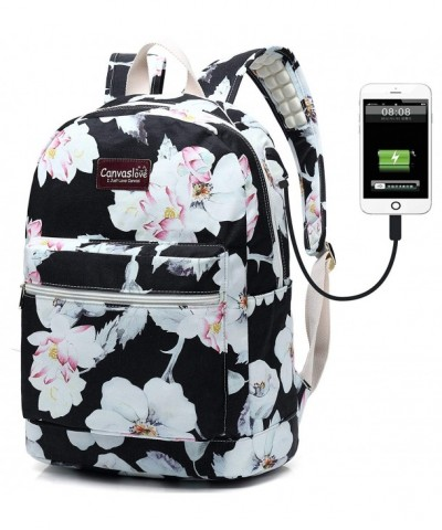 Canvaslove Waterproof backpack Charging Backpack
