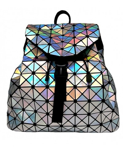Roffatide Geometric Luminous Backpack Shoulder
