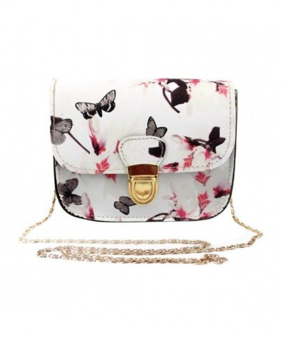 Liraly Clearance Butterfly Printing Messenger