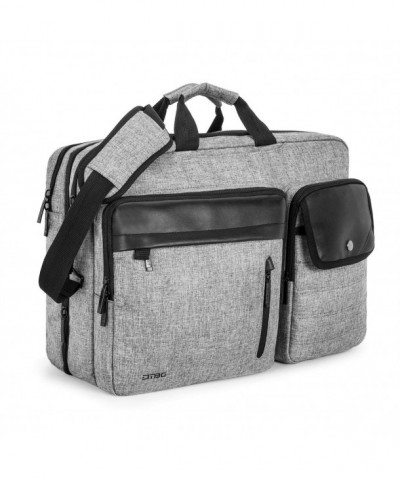Expandable Capacity Messenger Briefcase Multi pockets