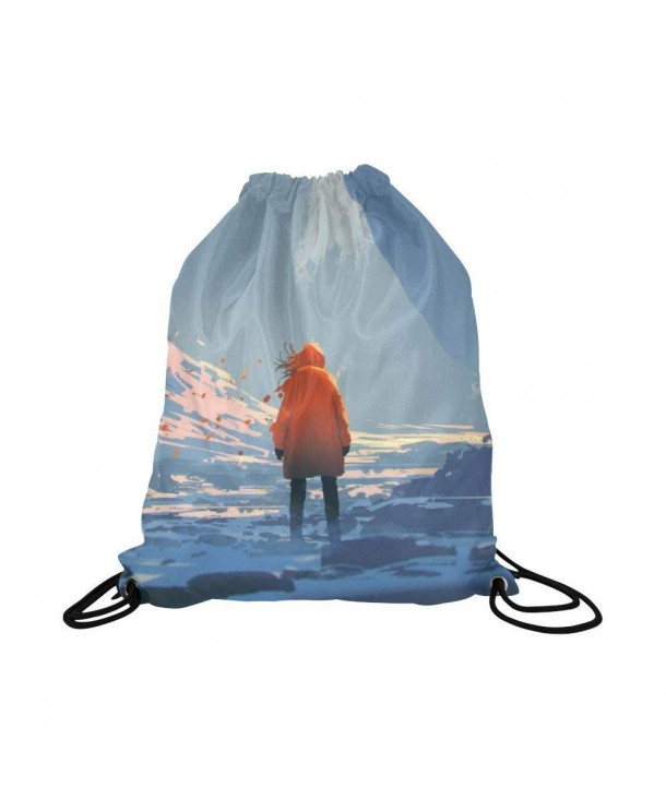 InterestPrint Fantasy Drawstring Backpack Daypack