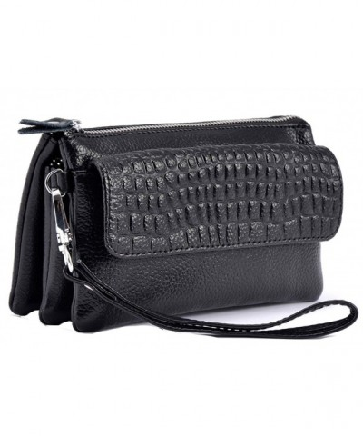 iSuperb Clutch Leather Wristlet Shoulder