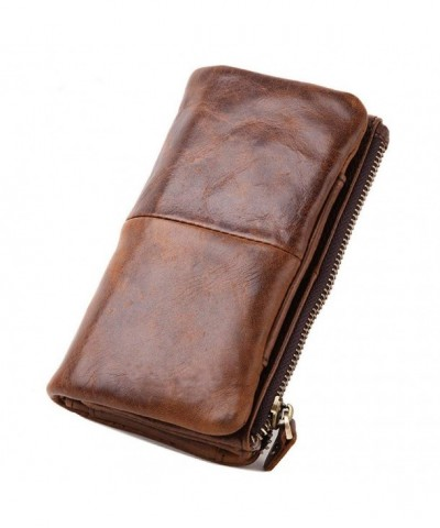 Leaokuu Genuine Leather Organizer Checkbook