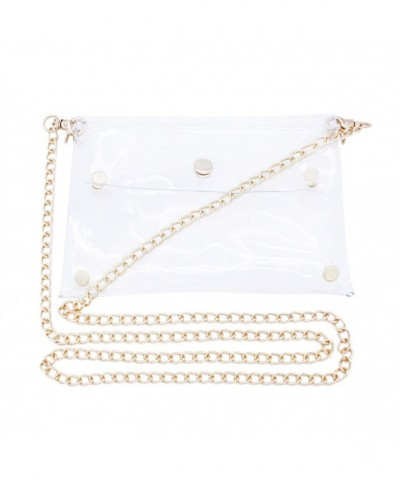 Transparent Shoulder Messenger Clear Cross