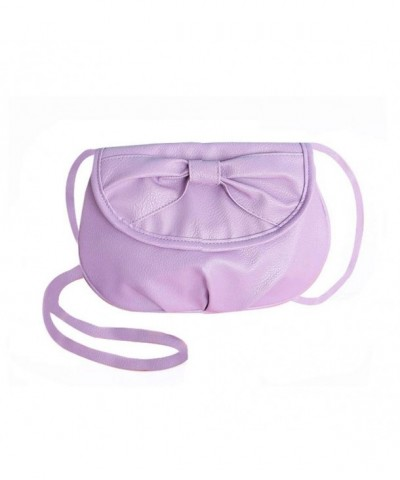 Donalworld Manmade Leather Shoulder Violet