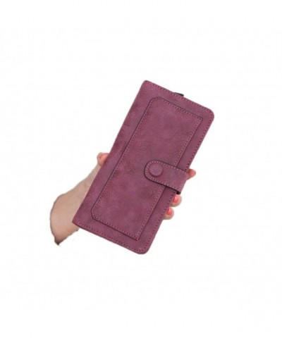 Womens leather Wallet Cardholder Ladies
