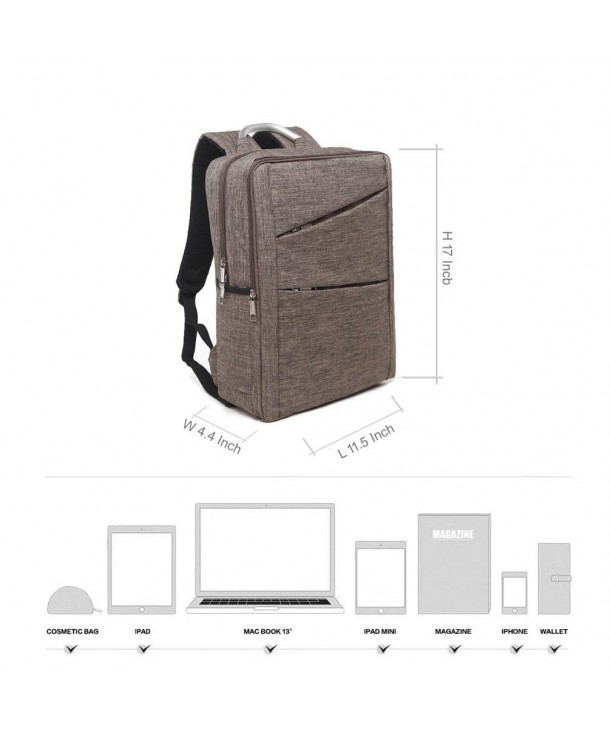 Business Resistant Backpack College Calson