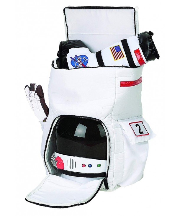 Aeromax Astronaut Backpack Black patches