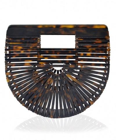Miuco Womens Acrylic Handbag Handmade
