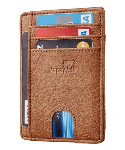 NapaWalli Blocking Minimalist Genuine Leather x