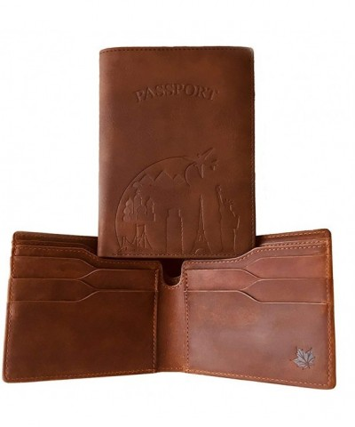 Crazy Wallet Bundled Passport Holder