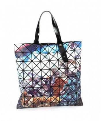 MUSAA Geometry Leather Shoulder Handbags