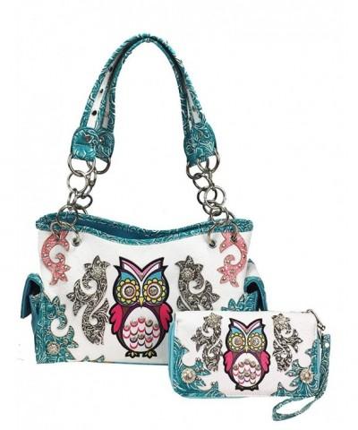 Zzfab Western Handbag Concealed Turquoise