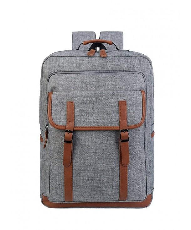 ALOVEY Vintage Backpack College Rucksack