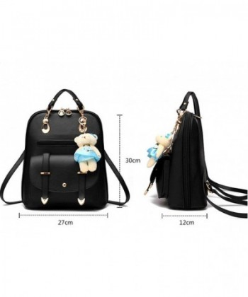 106b6d9fced5e Available. Hynbase Leather Student Backpack Shoulder; Women Backpacks  Outlet; Women Bags Outlet