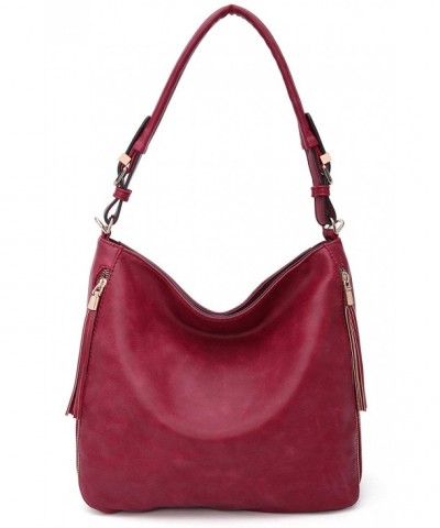 Collection Orton Hobo Handbag Burgandy