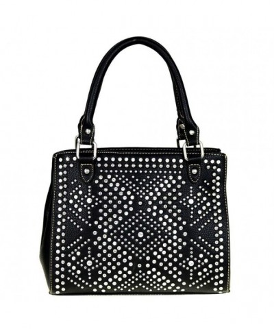 Montana West Satchel Collection Crystal