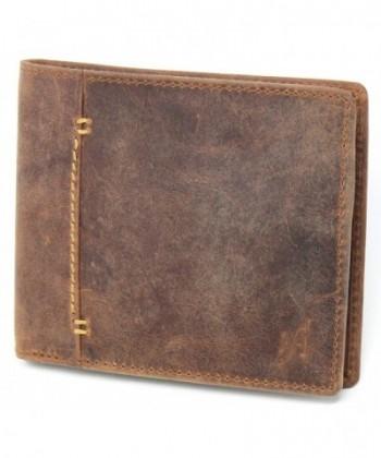 Starhide Blocking Distressed Leather 1050 BRN
