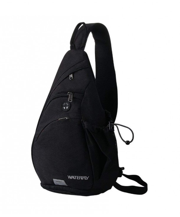 WATERFLY Backpack Crossbody Daypack Rucksack