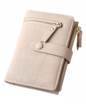 Blocking Leather Organized Wallets Compact