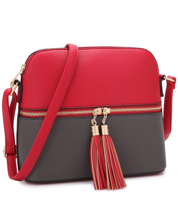Leather Crossbody Shoulder Fashion Capacity
