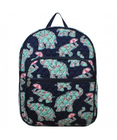 NGIL Compartment Backpack Umbrella Elephant