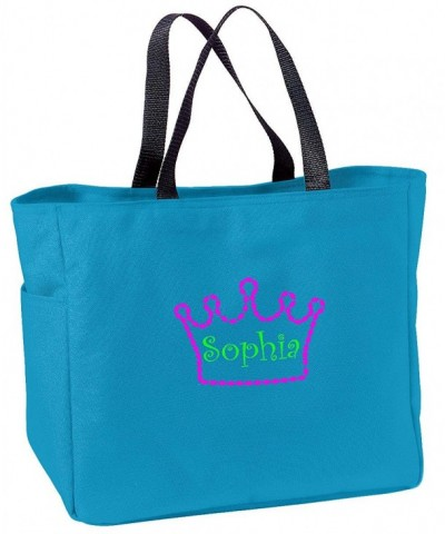 Personalized Embroidered Crown Essential Turquoise