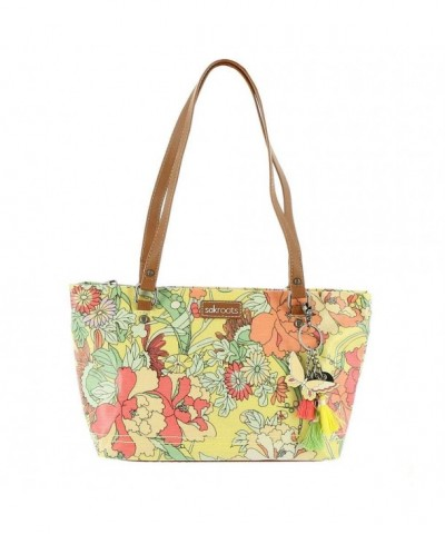 Sakroots Artist Circle Satchel Sunlight