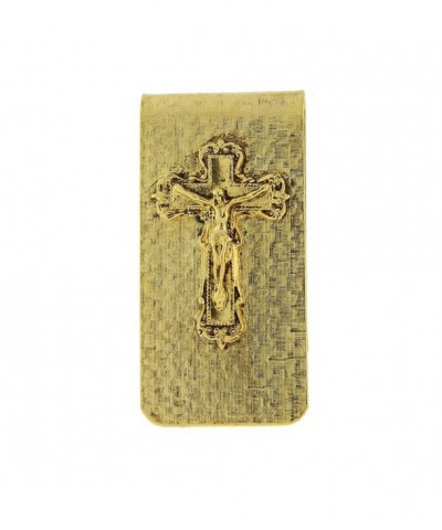 Symbols Faith Gold Dipped Crucifix Money