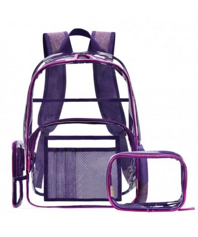 NiceEbag Backpack Cosmetic Transparent Multi pockets