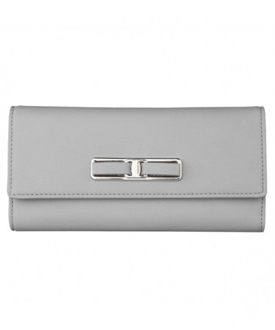 Leather Wallet Buckle Elegant Handbag