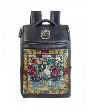 Design Backpack Chinese Embroidery College