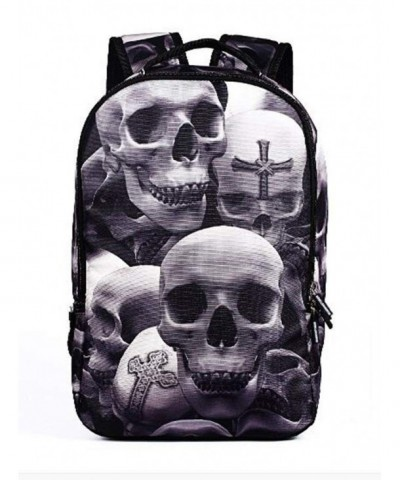 YAMAMA skeleton schoolbag leisure backpack