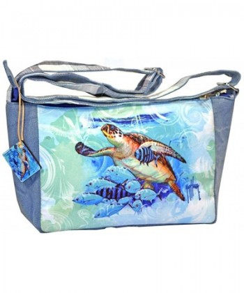Guy Harvey Turtle Cross Shoulder