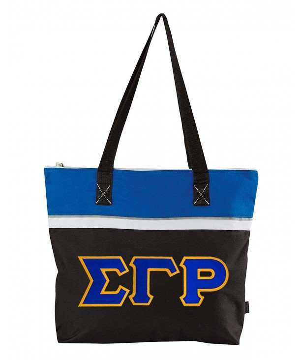 Sigma Gamma Lettered Muse Totebag