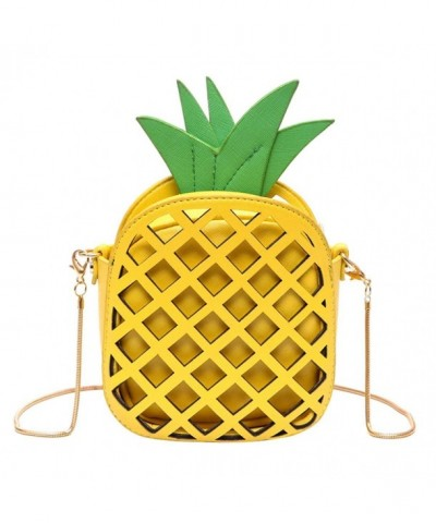 Kukoo Leather Pineapple Creative Shoulder x