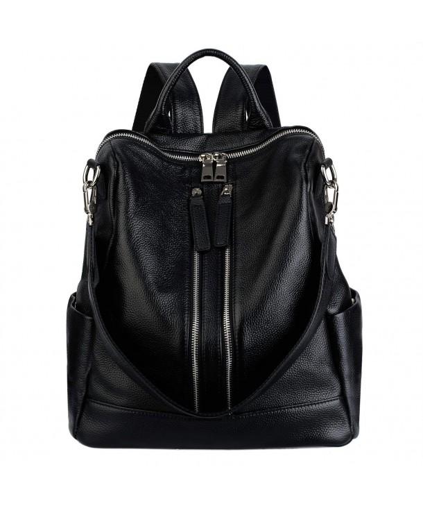 YALUXE Convertible Backpack Versatile Shoulder