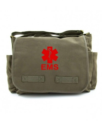 Emergency Services Army Heavyweight Messenger