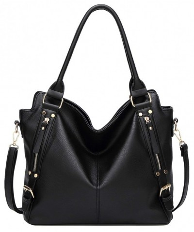 wanture Leather Handbags Capacity Shoulder
