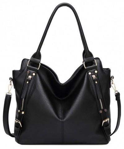 wanture Leather Handbags Capacity Shoulder