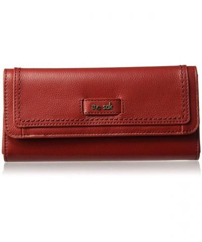 Sak Iris Flap Wallet Scarlet
