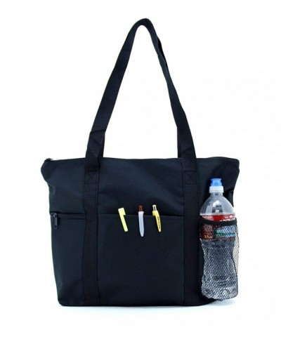 Traveler Zippered Tote Bag Shoulder