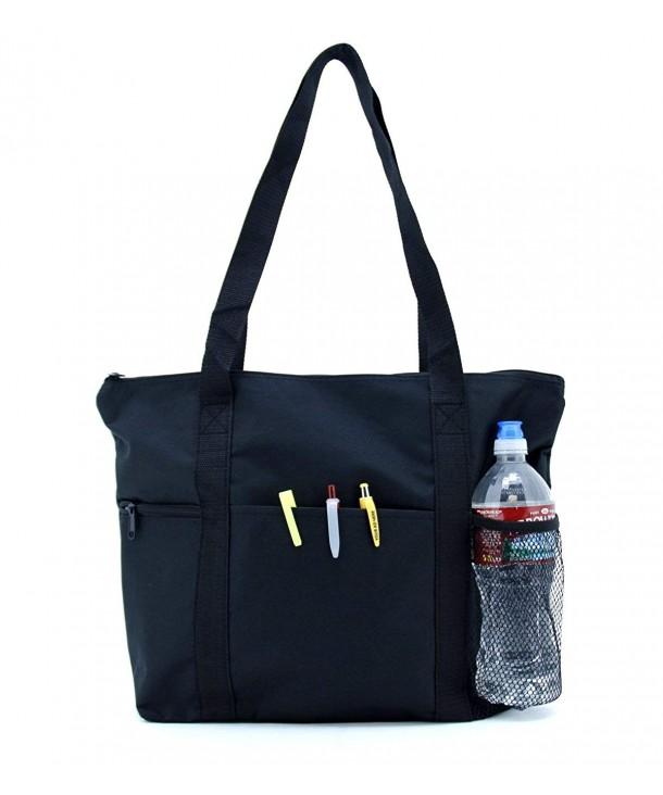 Traveler Zippered Tote Bag Shoulder