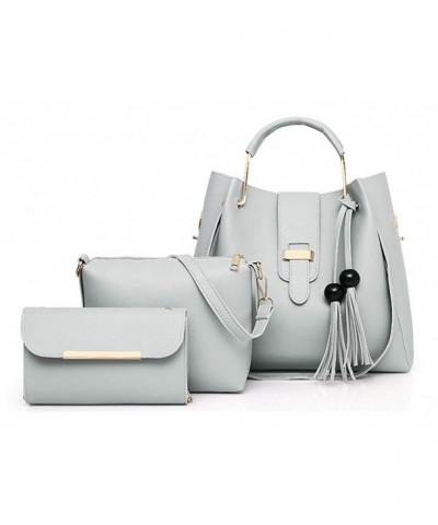 Hycurey Leather Handbag Shoulder Pockets