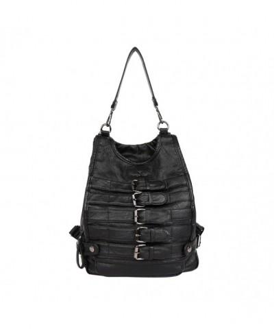 Angelkiss Leather shoulder backpack K15631