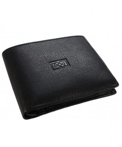 Celtic Leather Wallet Black Ireland